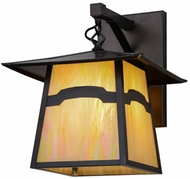 Meyda Tiffany 54633 Stillwater Mountain View Mission Bai Craftsman Exterior Lighting Sconce