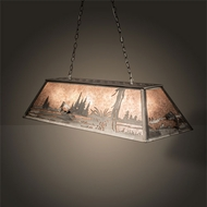 Meyda Tiffany 65178 Catch of the Day Country Steel Island Lighting