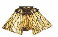 Meyda Tiffany 65623 Jadestone Willow Tiffany 5  Wide Fan Lighting Fixture