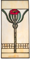 Meyda Tiffany 67291 Poppy Tiffany Stained Glass Window