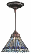 Meyda Tiffany 67708 Tiffany Jeweled Peacock Tiffany 66  Tall Ceiling Lighting