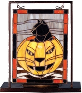 Meyda Tiffany 69140 Halloween Tiffany Stained Glass Window