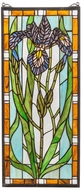 Meyda Tiffany 69829 Iris Tiffany Stained Glass Window