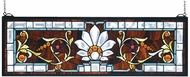 Meyda Tiffany 73063 Beveled Ellsinore Tiffany Hanging Stained Glass Art