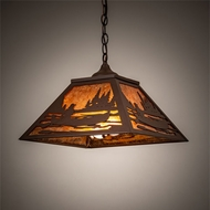 Meyda Tiffany 74032 Canoe At Lake Hanging Pendant Lighting