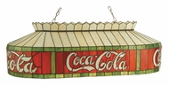Meyda Tiffany 74084 Coca Cola Billiard Light - 40 inches