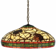 Meyda Tiffany 77981 Pinecone Tiffany Bronze Pendant Light