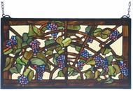 Meyda Tiffany 78088 Grape Arbor Stained Glass Panel