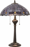 Meyda Tiffany 78123 Elan Tiffany Amber Table Top Lamp