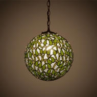 Meyda Tiffany 81735 Mistletoe Ball Tiffany Antique Pendant Lamp