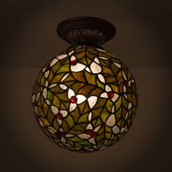 Meyda Tiffany 81754 Holly Ball Tiffany Ceiling Lighting