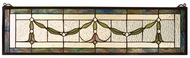 Meyda Tiffany 98102 Cottage Garland Swag Stained Glass Art
