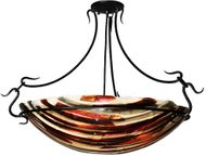 Meyda Tiffany 99444 Marina Modern 22.5  Tall Pendant Hanging Light