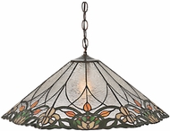 Meyda Tiffany 99556 Tulip & Fleurs Tiffany Antique Pendant Hanging Light