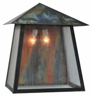 Meyda Tiffany 99597 Stillwater Prime Traditional 25 Wide Exterior Wall Sconce Light