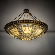 Meyda Tiffany 99693 Fleur-de-lis Tiffany Ceiling Lighting