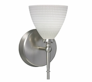 Mia Wall Lamp with Linen Glass