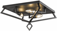 Millennium 3253-MB Contemporary Matte Black 13  Ceiling Light Fixture