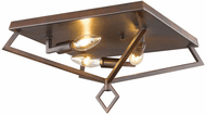 Millennium 3253-RBZ Modern Rubbed Bronze 13  Flush Lighting