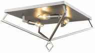 Millennium 3256-BPW Contemporary Brushed Pewter 16  Flush Mount Lighting