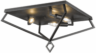 Millennium 3256-MB Modern Matte Black 16  Overhead Lighting