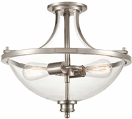 Millennium 3622-BN Forsyth Modern Brushed Nickel Flush Mount Light Fixture