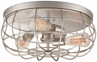 Millennium 5323-SN Neo-Industrial Satin Nickel Home Ceiling Lighting