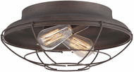 Millennium 5384-RBZ Neo-Industrial Contemporary Rubbed Bronze 14  Ceiling Light Fixture