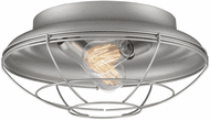 Millennium 5384-SN Neo-Industrial Contemporary Satin Nickel 14  Ceiling Lighting Fixture