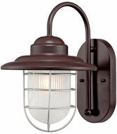 Millennium 5390-ABR R Series Contemporary Architectural Bronze Outdoor Wall Light Sconce