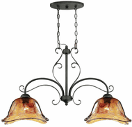 Millennium 7222-BG Chatsworth Burnished Gold Island Lighting