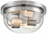 Millennium 9712-CH Ashford Contemporary Chrome 13  Ceiling Light