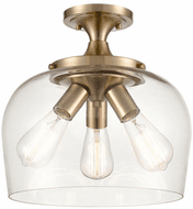 Millennium 9713-MG Ashford Modern Gold 13  Overhead Lighting
