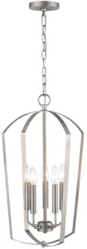 Millennium 9825-SN Ivey Lake Satin Nickel 15  Foyer Light Fixture