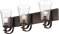 Millennium 1493-RBZ Natalie Modern Rubbed Bronze 3-Light Bath Lighting