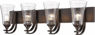 Millennium 1494-RBZ Natalie Modern Rubbed Bronze 4-Light Bathroom Lighting Fixture