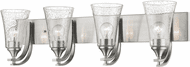 Millennium 1494-SN Natalie Contemporary Satin Nickel 4-Light Vanity Lighting