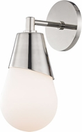Mitzi H101101-PN Cora Contemporary Polished Nickel Wall Lighting