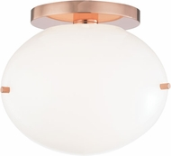 Mitzi H102601-POC Winnie Contemporary Polished Copper LED Ceiling Light Fixture