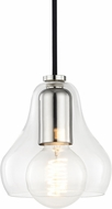 Mitzi H104701S-PN Sadie Modern Polished Nickel Mini Hanging Light Fixture