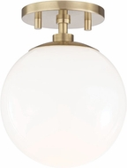 Mitzi H105601-AGB Stella Contemporary Aged Brass Ceiling Lighting Fixture