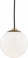 Mitzi H105701-AGB Stella Contemporary Aged Brass Mini Drop Lighting
