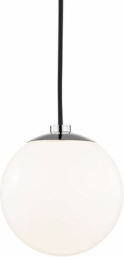 Mitzi H105701-PN Stella Contemporary Polished Nickel Mini Ceiling Light Pendant
