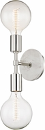 Mitzi H110102-PN Chloe Contemporary Polished Nickel Wall Sconce Light