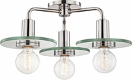 Mitzi H113603-PN Peyton Contemporary Polished Nickel Overhead Lighting