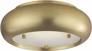 Mitzi H123501-AGB Keira Contemporary Aged Brass LED Home Ceiling Lighting