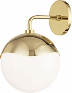 Mitzi H125101-PB Ella Contemporary Polished Brass Wall Sconce