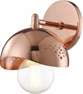 Mitzi H131101-POC Heidi Contemporary Polished Copper Wall Mounted Lamp