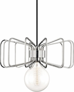 Mitzi H132701-PN Daisy Contemporary Polished Nickel Pendant Hanging Light