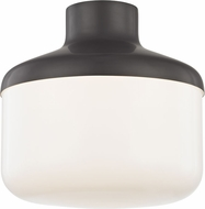 Mitzi H144501L-OB Livvy Modern Old Bronze 12  Flush Ceiling Light Fixture